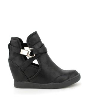 Dámské nazouvací boty na klínku Claudia Ghizzani