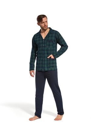 Pánské rozepínací pyžamo Cornette 114/33 M-2XL
