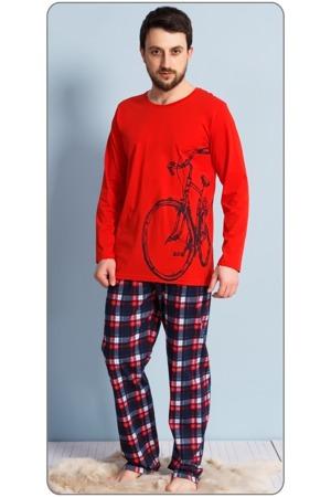 Pánské pyžamo dlouhé Velké kolo