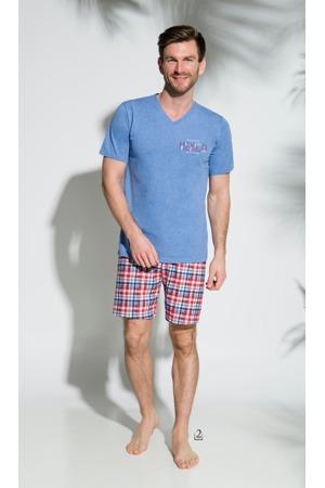 Pánské pyžamo 2196 BORYS krátké M-2XL