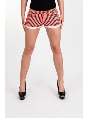 Moodo šortky dámské pruhované