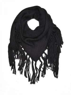 Top secret šátek dámský pletený
