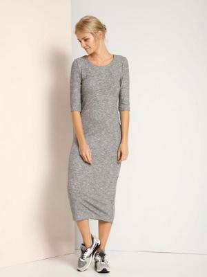 Top Secret šaty dámské dlouhé 3/4 rukáv