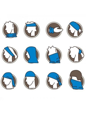 Alice Company Multifunkční šátek