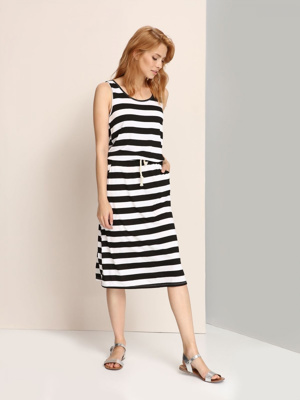 Top Secret šaty dámské dlouhé bez rukávu
