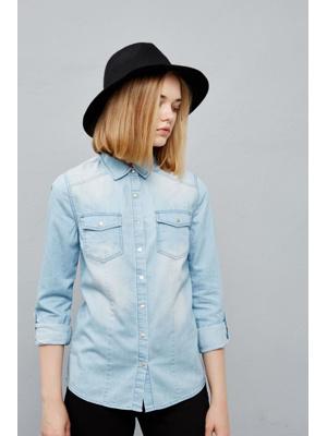 Moodo Košile dámská jeans