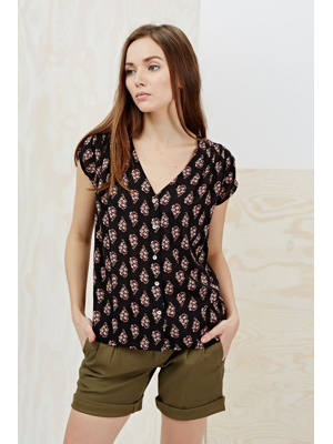 Moodo Košile dámská krátký rukáv