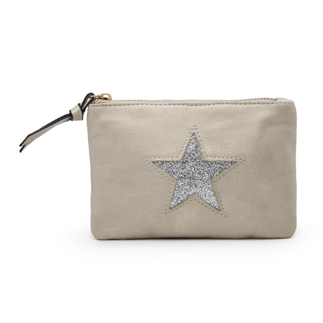 Kosmetická taštička Stars 1 - béžová béžová