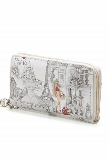 Peněženka stylová Paris Retro