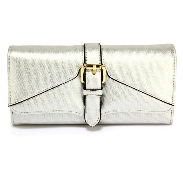 Peněženka Fashion Only Buckle - stříbrná stříbrná - stříbrná