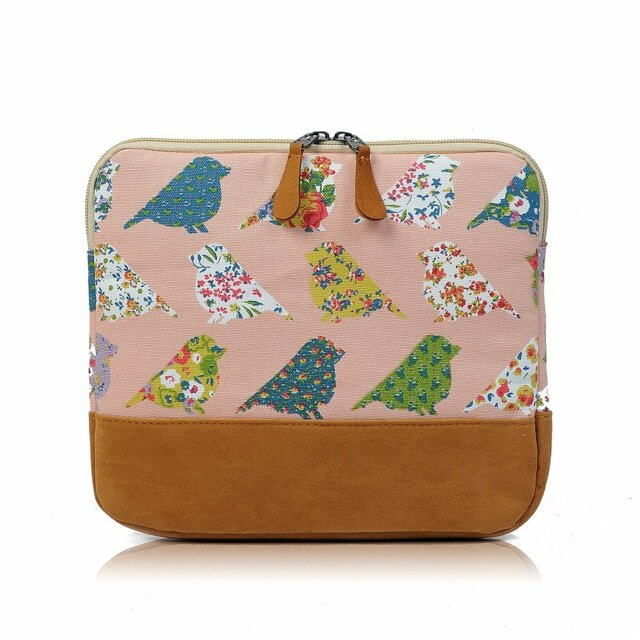 Obal na tablet Spring Birds - růžová