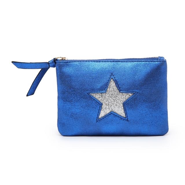 Kosmetická taštička Stars 1 - modrá modrá