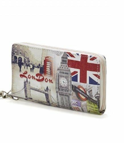 Stylová peněženka London Print