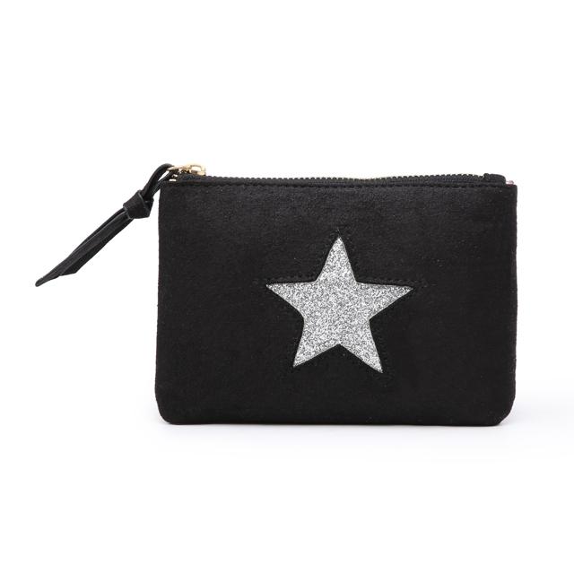 Kosmetická taštička Stars 1 - černá černá
