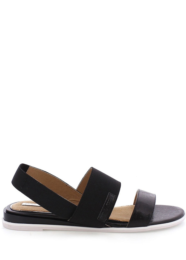 Černé elastické sandálky MARIA MARE - 41