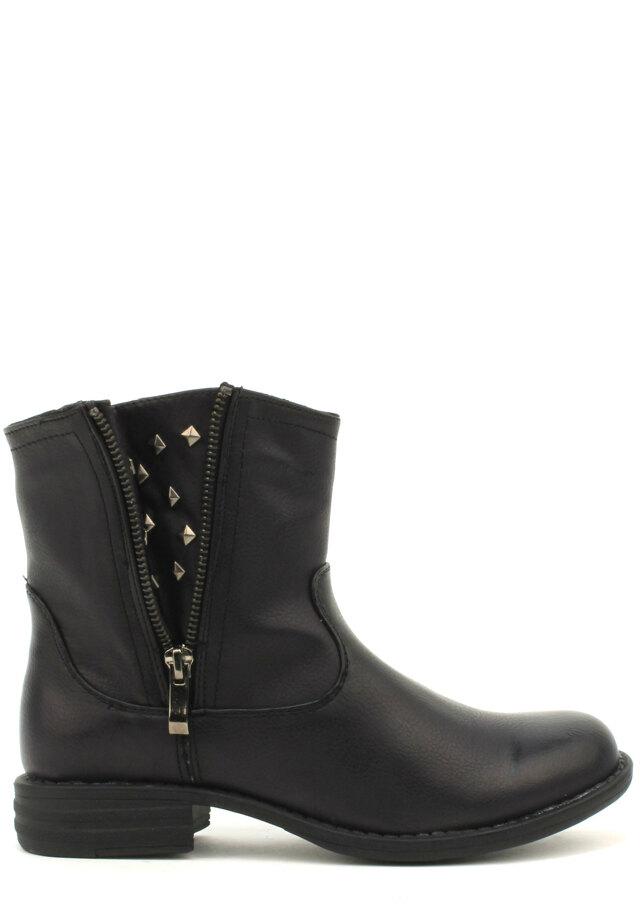 Černé kotníčkové boty Timeless - 36