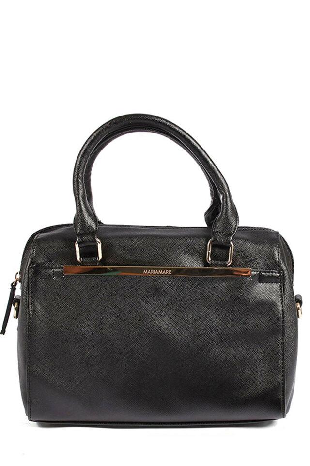 Černá pevná elegantní kabelka MARIA MARE