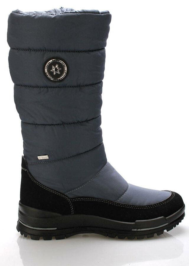 Tmavě modré italské sněhule M&G - 36
