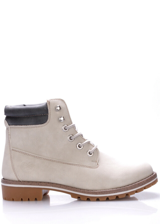 Bílé boty farmářky Canadians - 41