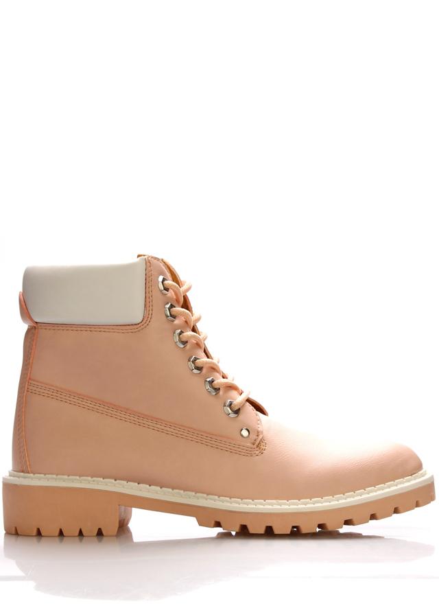 Růžové boty farmářky Claudia Ghizzani - 40