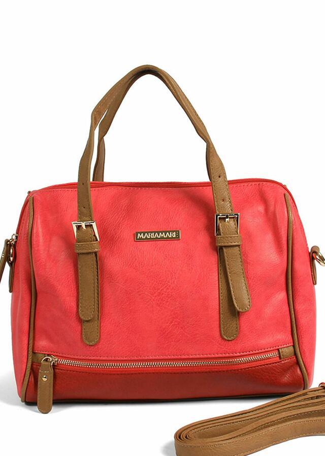 Červená kabelka do ruky MARIA MARE