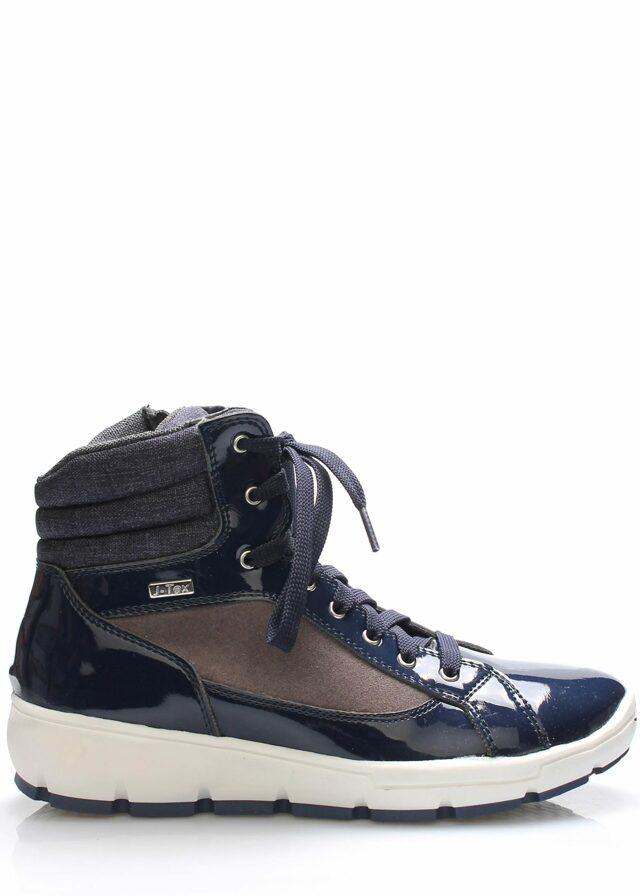 Tmavě modré italské zimní boty M&G - 37