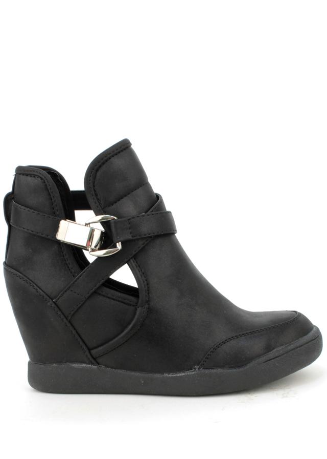 Dámské nazouvací boty na klínku Claudia Ghizzani - 39