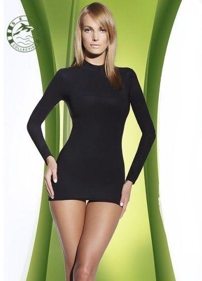 Zeštíhlující triko F 007 - Self - XS/S - černá