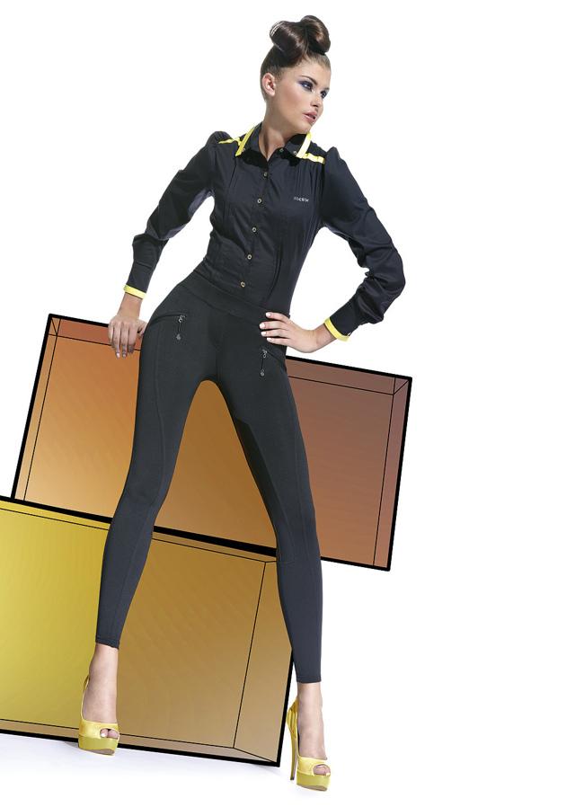 Legíny Karen - Bas Bleu - M - černá