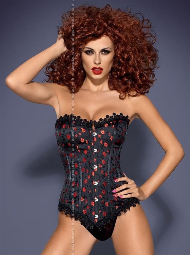 Sexy kostým Cabernet XXL - Obsessive - XXL - černá