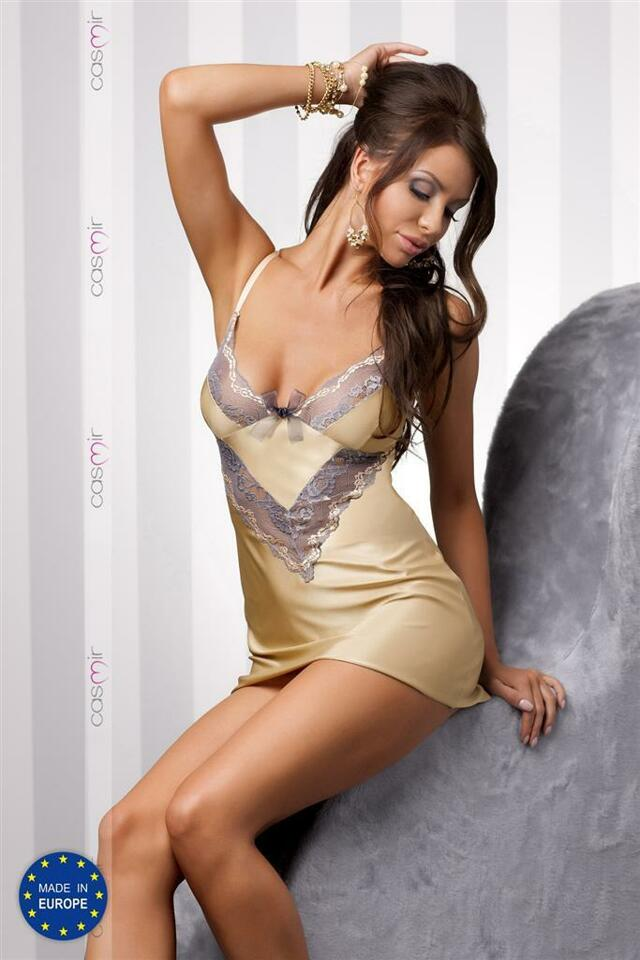 Košilka Vanilla - Casmir - L/XL - zlatá