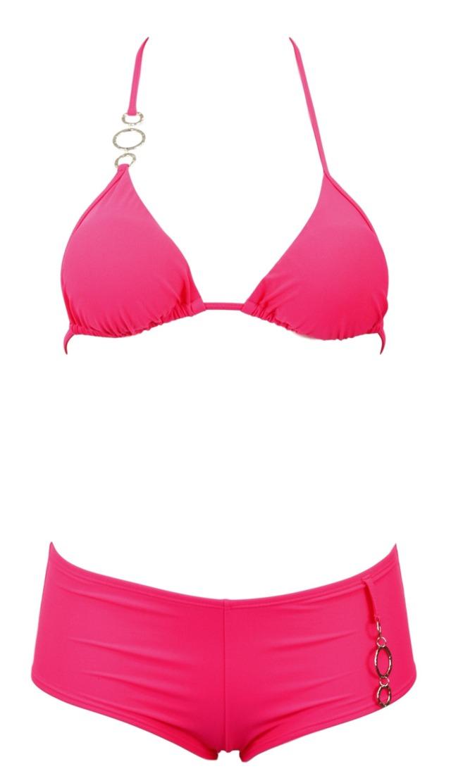 Dámské dvojdílné plavky Donna Ismena - M - růžová