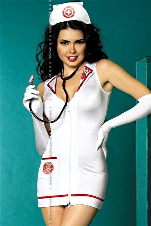 Erotický kostým Emergency dress XXL - XXL - viz foto
