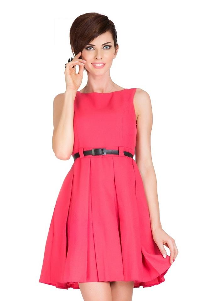 Béžové šaty s kontravolány 6-8 - S