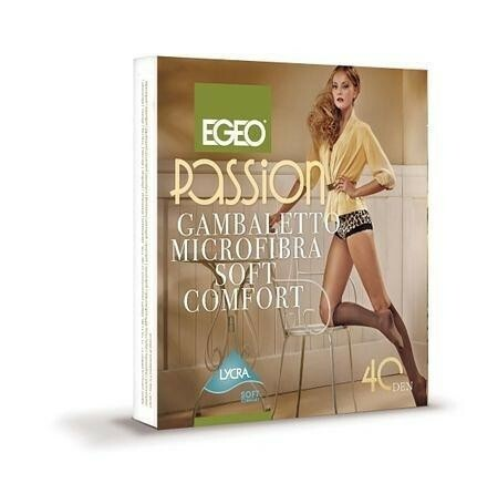 Podkolenky Passion Microfibre 40 DEN - Egeo - uni - toffie
