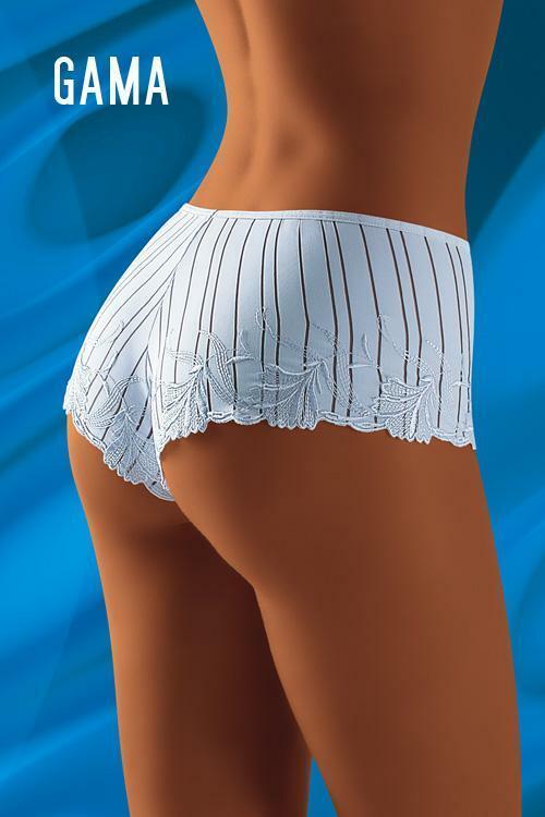 Dámské boxerky Gama white - S - bílá