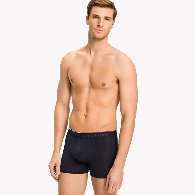Tommy Hilfiger Cotton Stretch Boxerky Black - L