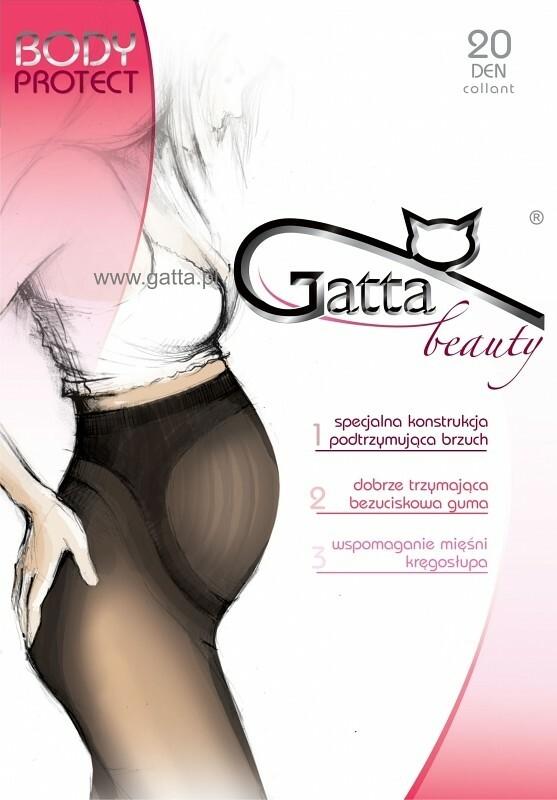 Dámské punčochové kalhoty Gatta Body Protect 20 den - 2-S - béžová/odstín béžové