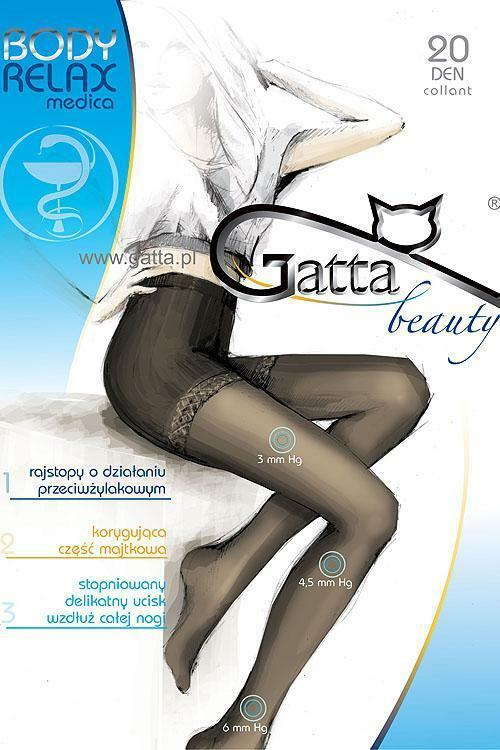 Punčochové kalhoty Gatta Body Relaxmedica 20 - 2-S - nero