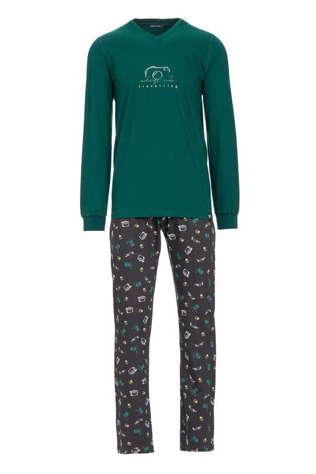 Vamp - Pánské pyžamo s potiskem fotoaparátu 13680 - Vamp - xxl