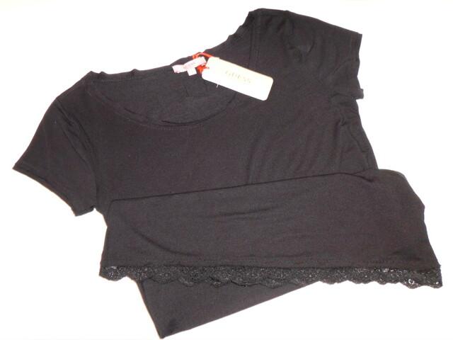 Dámské triko UG6D29 - Guess - M - černá