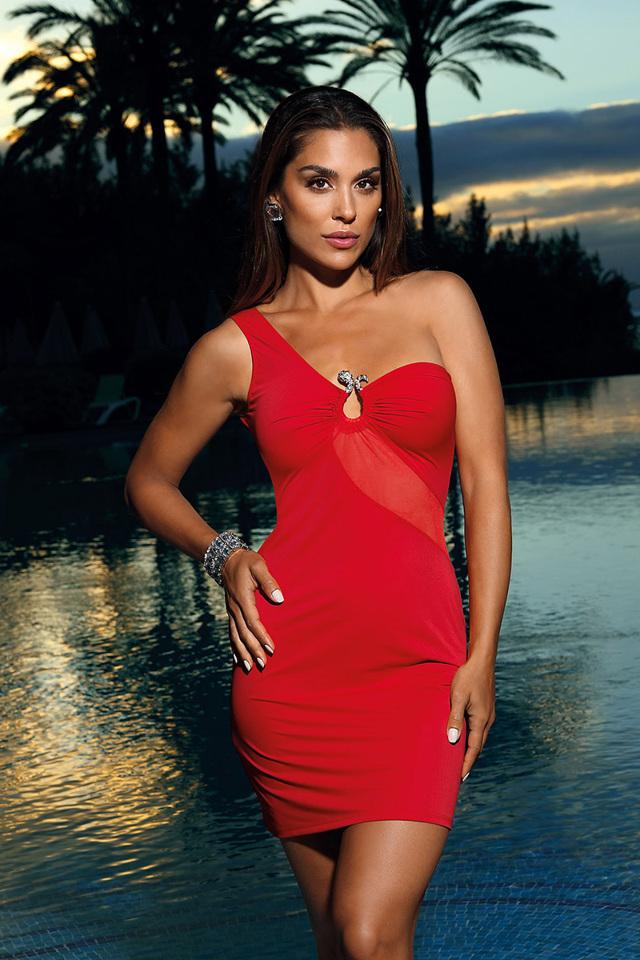 Sexy šaty model 137946 Axami - L