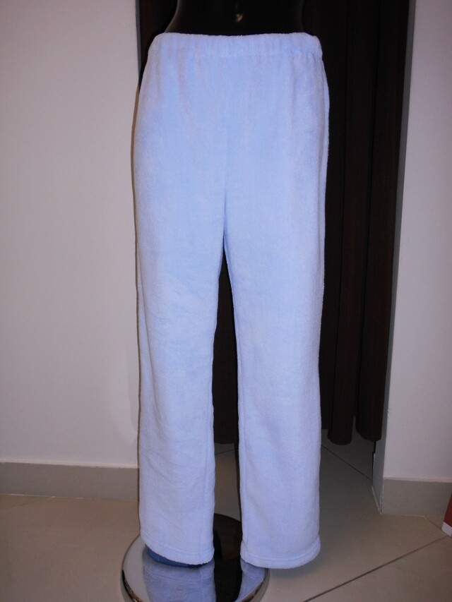 Dámské domácí kalhoty s výšivkou 6930 5251 - Vestis - S - světle modrá