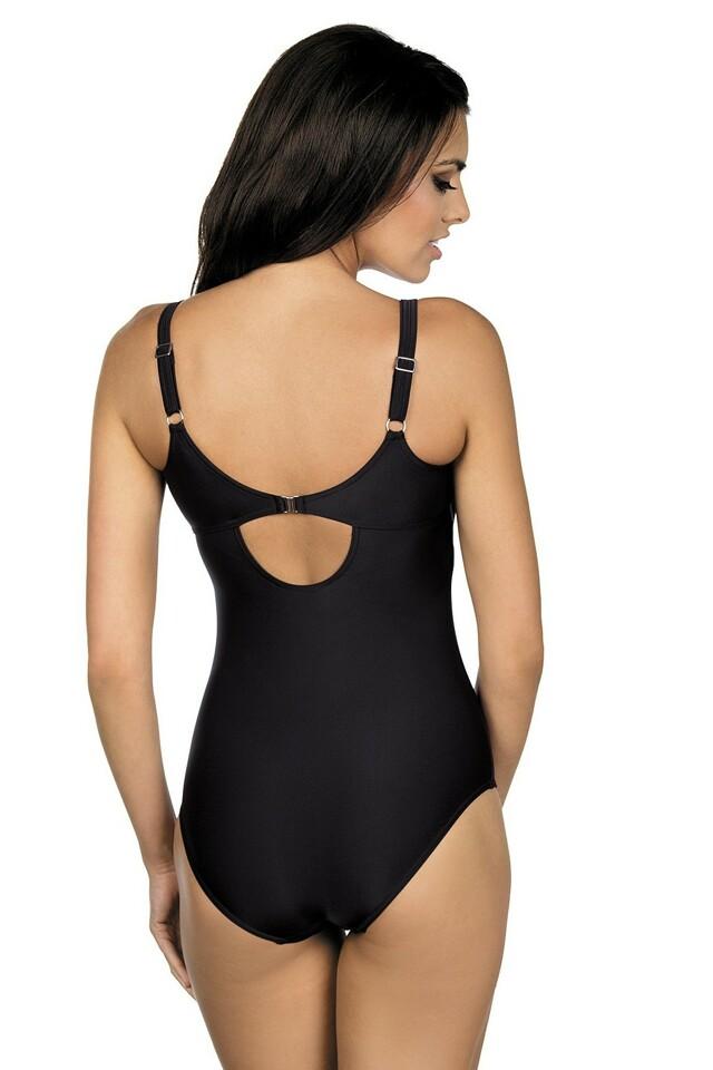 Jednodílné sportovní plavky Julie černé - M
