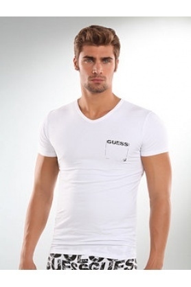Tričko UU5B21 - Guess - XL - šedá