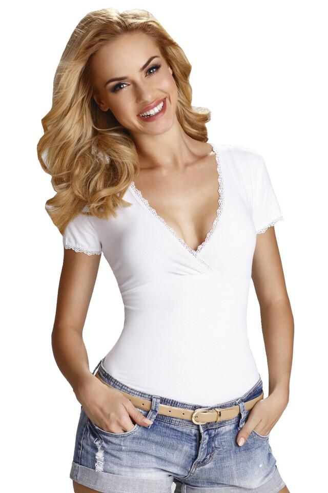 Dámské triko Dolly bílé - L