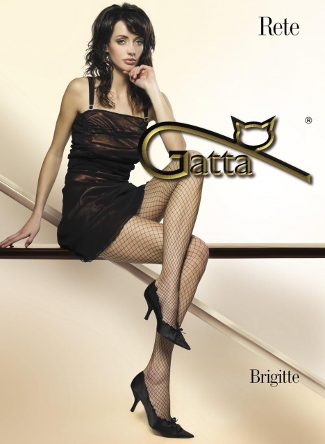 Punčochové kalhoty Brigitte 05 -Gatta - 1-2 - černá