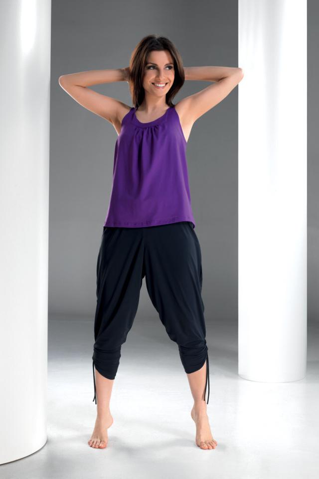 Fitness kalhoty Fantasia turecké - S