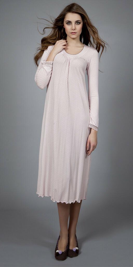 Dámská noční košile 1481 - Vamp - XL - růžová