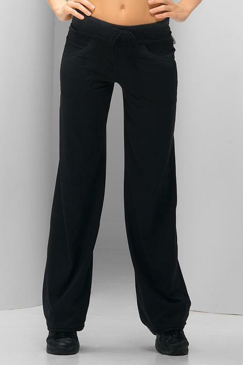 Fitness kalhoty Anna - S - černá
